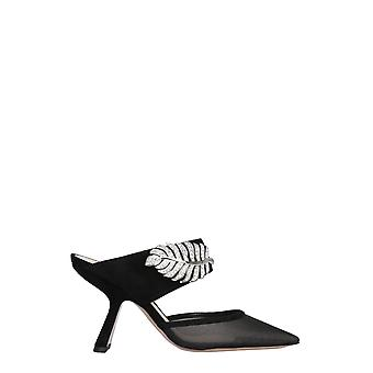Nicholas Kirkwood 909a88mshsn99 Femmes-apos;s Pantoufles en nylon noir