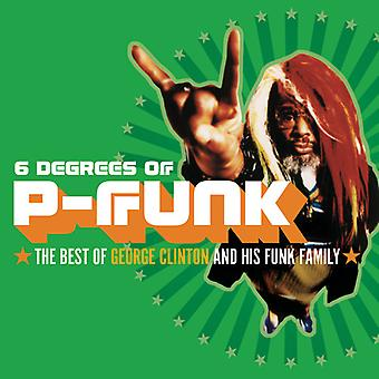 George Clinton - Six Degrees of P-Funk: Best of George Clinton & Hi [CD] USA import