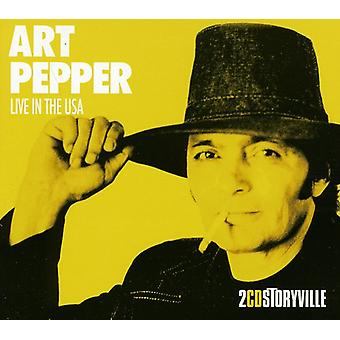 Art Pepper - Live in the Usa [CD] USA import
