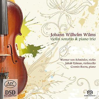 Wilms / Von Schnitzler / Tylman / Boeru - Violin Sonatas Piano Trio [SACD] USA import