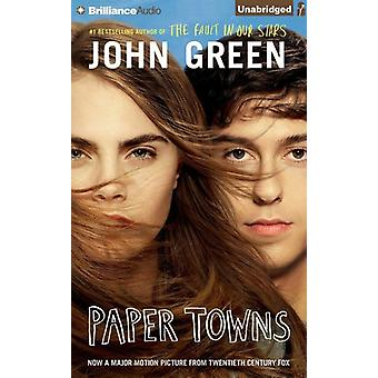 Paper Towns [CD] USA import