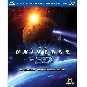 Universet i 3D: en hel ny Dimension 3D [BLU-RAY] USA importerer