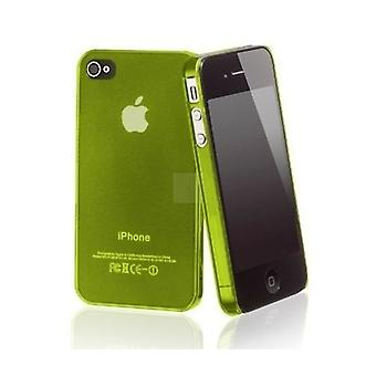 Iphone 4 & 4s Hard Plastic Cover Back Case - Groen