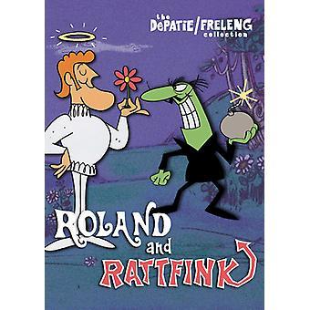 Roland och Rattfink (17 Cartoons) [DVD] USA import