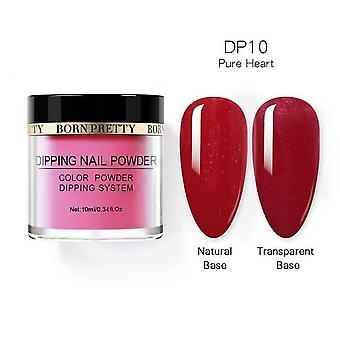 Dipping Nail Powders Base Coat Gradient Holografinen - Ranskalainen Kynsi Luonnollinen Väri