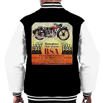 BSA Throughout The Years Men's Varsity Jacket