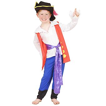 Captain Feathersword The Wiggles Pirate Book Week Toddler Boys Costume 2-4 Years