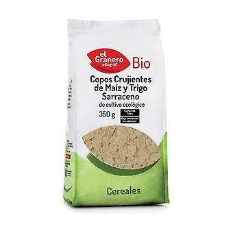 Crispy Corn and Bio buckwheat flakes 350 g