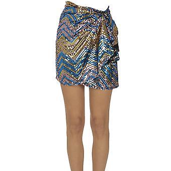 Ava Adore Ezgl158009 Women's Multicolor Cotton Skirt