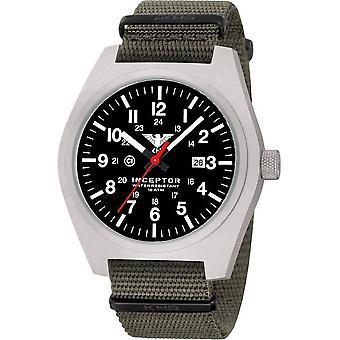 KHS - Men's Watch - Inceptor Steel Natoband Stone Grey-Olive KHS. INCS. NSGO