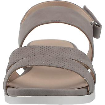 LifeStride Women's Shoes Leather Open Toe Casual Slingback Sandals