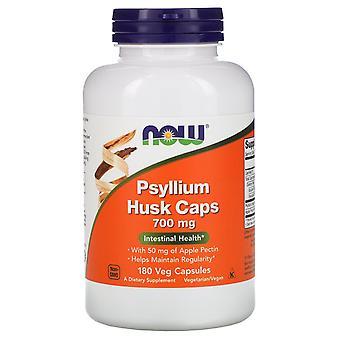 Now Foods, Psyllium Husk Caps, 700 mg, 180 Veg Capsules