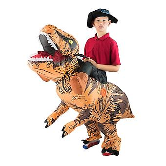 Kids Inflatable Lift You Up Deluxe Dinosaur Halloween Costume One Size Fits All