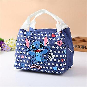 Disney Cartoon Insulation Bag With Stitch Box