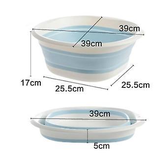 Plastic Portable Folding Wash Basins -laundry Tub