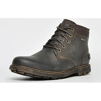 Rockport Rugged Buck II Impermeable Chukka Marrón Oscuro