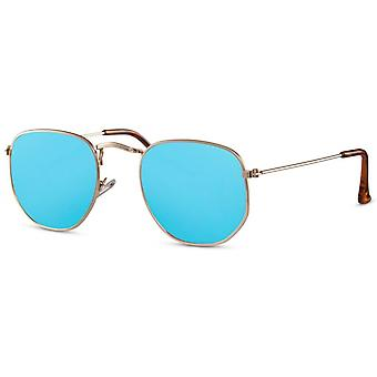 نظارات شمسية للجنسين الذهب / الأزرق (CWI2415)