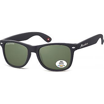 Sonnenbrille Unisex by SGB    schwarz/grün (MP1-XL)