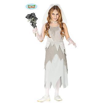 Guirca haamuja morsian zombie Undead kauhu morsian Halloween tyttö puku