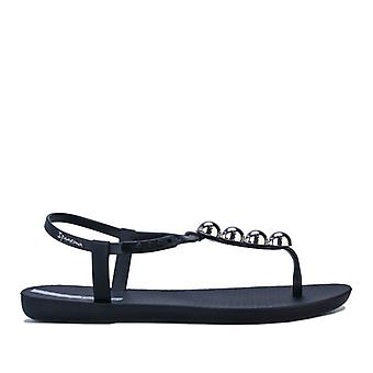 Kvinnor's Ipanema Klass Pebble Sandaler i svart