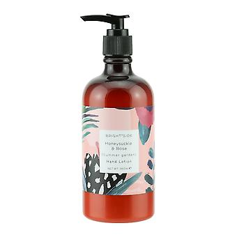 Brightside Honeysuckle and Rose Hand Lotion Skincare for Soft Hands 350ml