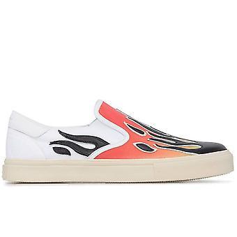 Amiri Ezcr057002 Men's Multicolor Fabric Slip On Sneakers