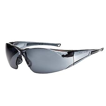 Bolle Safety RUSH Safety Glasses - Smoke BOLRUSHPSF