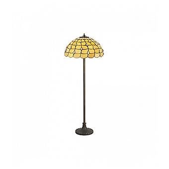 Golvlampa Tiffany Breeze 2 Beige Lökar 20 Cm