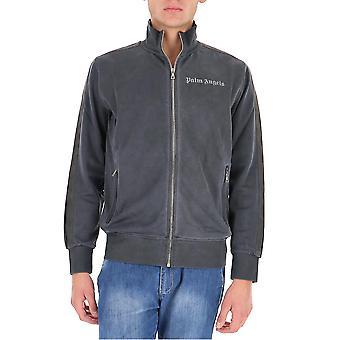 Palm Angels Pmbd001f20fab0031010 Homme-apos;s Sweat-shirt en coton noir