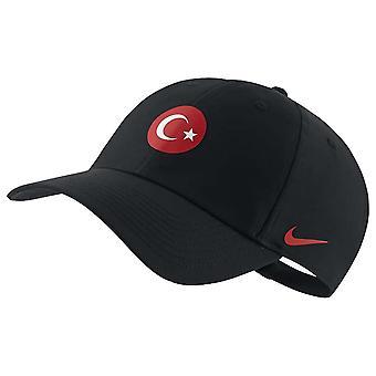 2020-2021 تركيا H86 كاب (أسود)