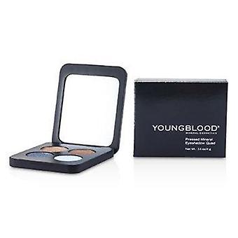 Pressé Mineral Eyeshadow Quad - Glamour Eyes 4g ou 0.14oz