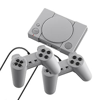 Data Frog Mini 620 Retro Video Games Console Double Players 8 Bit Support Av Out Family Tv Retro Games Controller (grey)