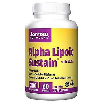 Jarrow Formler Alpha Lipoic Sustain, 300 mg, 60 Flikar