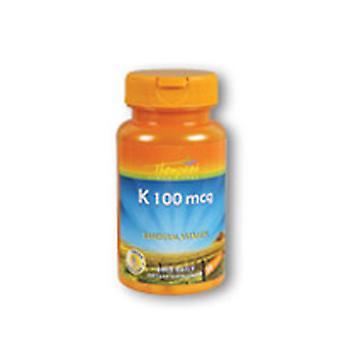 Thompson Vitamina K, 100 MCG, 30 Caps