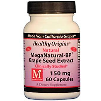 Healthy Origins Mega Natural BP, 150 MG, 60 Cap
