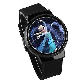 Nepremokavé svetelné LED hodinky Digital Touch Children - Frozen #26