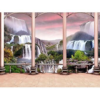 Wallpaper Mural Waterfall Design