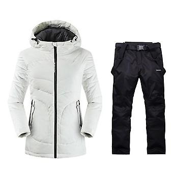 Womens Mountain Skiing Outdoor Winter Warm Sport Anzüge, Damen Schneebekleidung