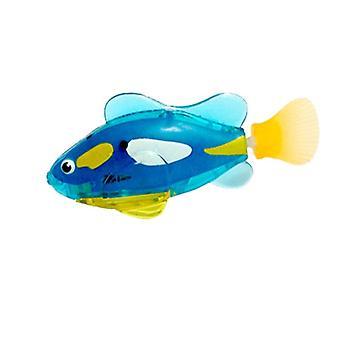 فلاش السباحة الالكترونية الأسماك، الحيوانات الأليفة حمام بطارية تعمل بالطاقة السباحة روبوتية