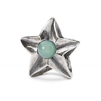 Trollbeads Sterling Silver Taurus Star Bead TAGBE-00262