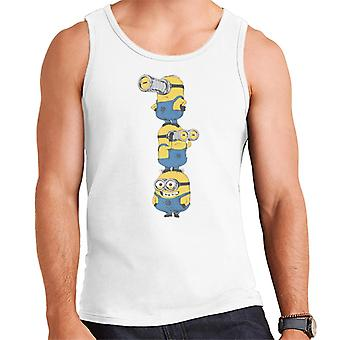 Despicable Me Minions Standing Tower Men's Vest