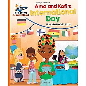 Reading Planet - Ama and Kofi's International Day - Orange: Galaxy