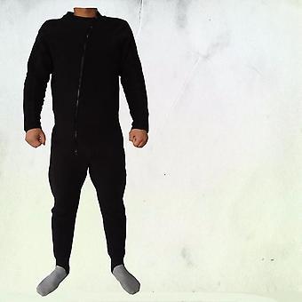 Kevyt Thermal Undersuit Drysuit Kokovartalo Flecce Undersuit, Etuvetoketju.