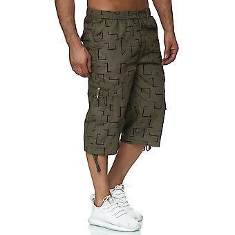 Mens Bermuda Leisure Shorts Summer Shorts Cargo Capri 3/4 Sacs Pantalon décontracté