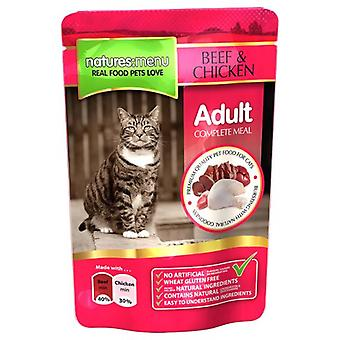 Natures Menu Beef & Chicken Adult Cat Pouch (Cats , Cat Food , Wet Food)