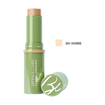 Defense Cover Corrector Foundation Stick 201 Ivory 10 ml