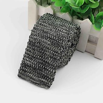 Men's Fashion Colourful Knitted Necktie Solid Color Narrow Slim Skinny Ties