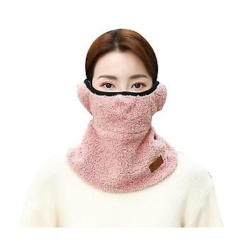 Winter Cold-proof Mask Plus Velvet Thickening Men And Women The Same Style Riding Protective Cold-proof Warm Bib Mask