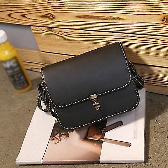 Leather Satchel Handbag, Shoulder Tote Messenger & Crossbody Bag