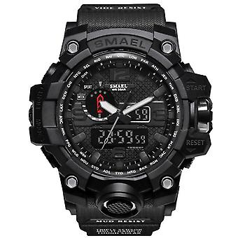 Men Sports Watches Dual Display Analog Digital Led Electronic Quartz